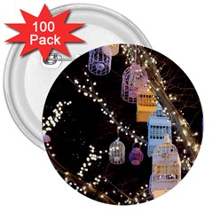 Qingdao Provence Lights Outdoors 3  Buttons (100 Pack)