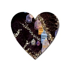 Qingdao Provence Lights Outdoors Heart Magnet