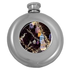 Qingdao Provence Lights Outdoors Round Hip Flask (5 Oz)
