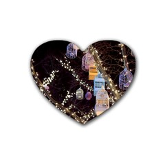 Qingdao Provence Lights Outdoors Heart Coaster (4 Pack)