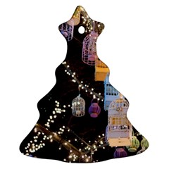 Qingdao Provence Lights Outdoors Christmas Tree Ornament (2 Sides)