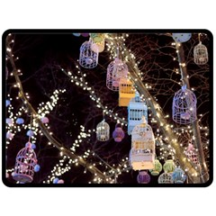 Qingdao Provence Lights Outdoors Double Sided Fleece Blanket (large)