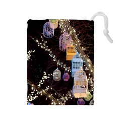 Qingdao Provence Lights Outdoors Drawstring Pouches (large)