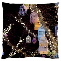 Qingdao Provence Lights Outdoors Large Flano Cushion Case (two Sides)
