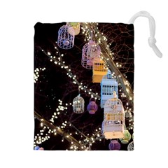 Qingdao Provence Lights Outdoors Drawstring Pouches (Extra Large)