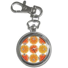 Orange Discs Orange Slices Fruit Key Chain Watches