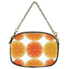 Orange Discs Orange Slices Fruit Chain Purses (one Side)