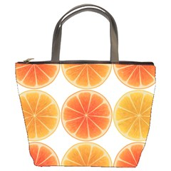 Orange Discs Orange Slices Fruit Bucket Bags