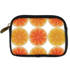 Orange Discs Orange Slices Fruit Digital Camera Cases