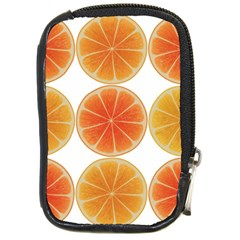 Orange Discs Orange Slices Fruit Compact Camera Cases