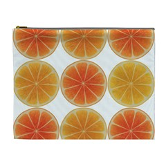 Orange Discs Orange Slices Fruit Cosmetic Bag (xl)