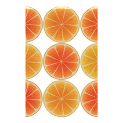 Orange Discs Orange Slices Fruit Shower Curtain 48  X 72  (small)