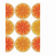 Orange Discs Orange Slices Fruit Large Garden Flag (two Sides)