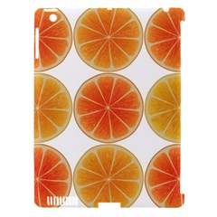 Orange Discs Orange Slices Fruit Apple Ipad 3/4 Hardshell Case (compatible With Smart Cover)