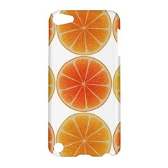 Orange Discs Orange Slices Fruit Apple Ipod Touch 5 Hardshell Case