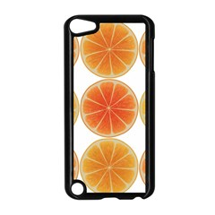 Orange Discs Orange Slices Fruit Apple Ipod Touch 5 Case (black)