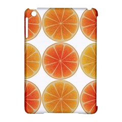 Orange Discs Orange Slices Fruit Apple Ipad Mini Hardshell Case (compatible With Smart Cover)