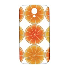 Orange Discs Orange Slices Fruit Samsung Galaxy S4 I9500/i9505  Hardshell Back Case