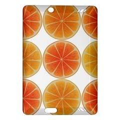 Orange Discs Orange Slices Fruit Amazon Kindle Fire Hd (2013) Hardshell Case