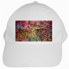 Texture Background Spring Colorful White Cap