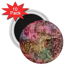 Texture Background Spring Colorful 2 25  Magnets (10 Pack)