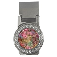 Texture Background Spring Colorful Money Clips (cz)
