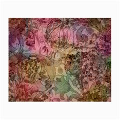 Texture Background Spring Colorful Small Glasses Cloth