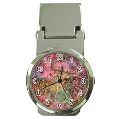 Texture Background Spring Colorful Money Clip Watches