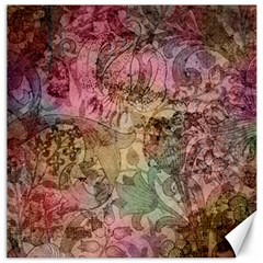 Texture Background Spring Colorful Canvas 12  x 12
