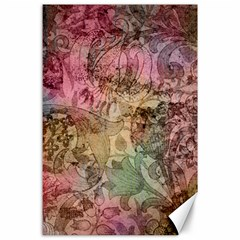 Texture Background Spring Colorful Canvas 24  X 36