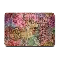 Texture Background Spring Colorful Small Doormat