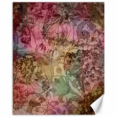 Texture Background Spring Colorful Canvas 11  X 14