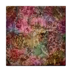 Texture Background Spring Colorful Face Towel