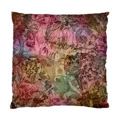 Texture Background Spring Colorful Standard Cushion Case (two Sides)