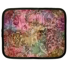 Texture Background Spring Colorful Netbook Case (xl)