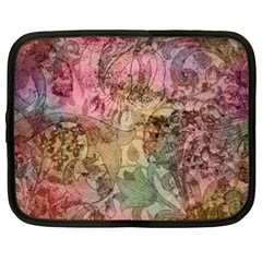 Texture Background Spring Colorful Netbook Case (xxl)