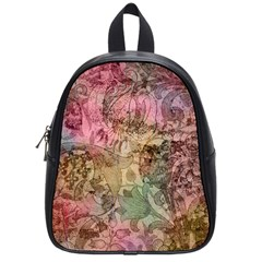 Texture Background Spring Colorful School Bags (small)