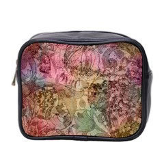 Texture Background Spring Colorful Mini Toiletries Bag 2 Side