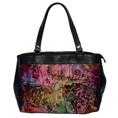 Texture Background Spring Colorful Office Handbags
