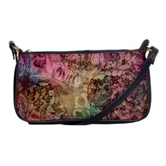 Texture Background Spring Colorful Shoulder Clutch Bags