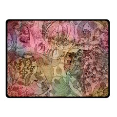 Texture Background Spring Colorful Fleece Blanket (small)