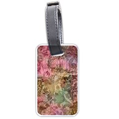 Texture Background Spring Colorful Luggage Tags (two Sides)