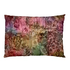 Texture Background Spring Colorful Pillow Case (two Sides)