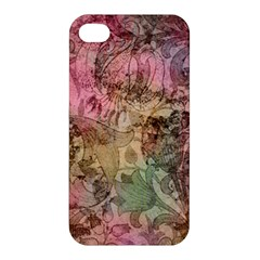 Texture Background Spring Colorful Apple Iphone 4/4s Hardshell Case