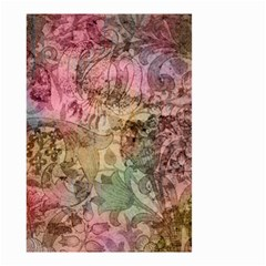 Texture Background Spring Colorful Small Garden Flag (two Sides)