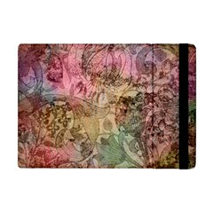 Texture Background Spring Colorful Apple Ipad Mini Flip Case