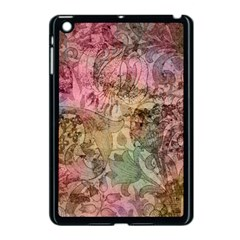 Texture Background Spring Colorful Apple Ipad Mini Case (black)