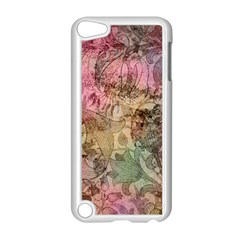 Texture Background Spring Colorful Apple Ipod Touch 5 Case (white)