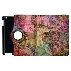 Texture Background Spring Colorful Apple Ipad 2 Flip 360 Case