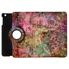 Texture Background Spring Colorful Apple Ipad Mini Flip 360 Case